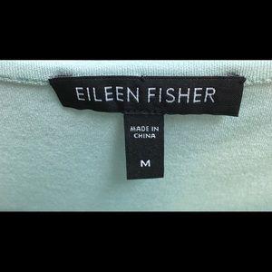 Eileen Fisher tank, size M, in celery 100% silk